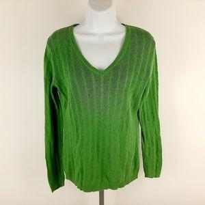 Ann Taylor Loft Women's V-neck Lightweight Sweater